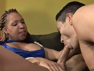 Black Shemale Pounds Ass