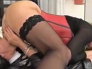 Fabulous Amateur Shemale Video With Stockings Blowjob Scenes Txxx Com