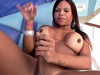 Brazilian Shemale Dildo With Cumshot Video