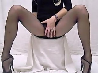 Cd Pantyhose Tease