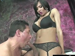 Ariadny Elegant Shemale With A Monster Cock Fuck And Cum