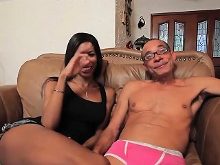 Busty Black Tranny Analfucked In Round Ass